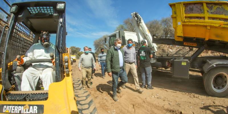 La Cañada: Retiran Casi 450 Mil Kilos De Basura Y Desmalezado Entre Los Puentes Venus Y Tronador
