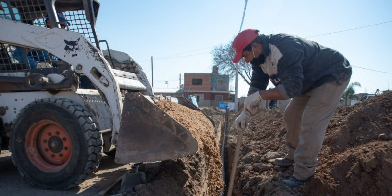 Comenzaron Las Obras De Agua En Cooperativa Camoatí
