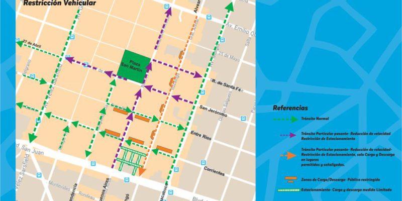 Cambio En La Circulación De Calles En El Corredor Histórico De La Ciudad
