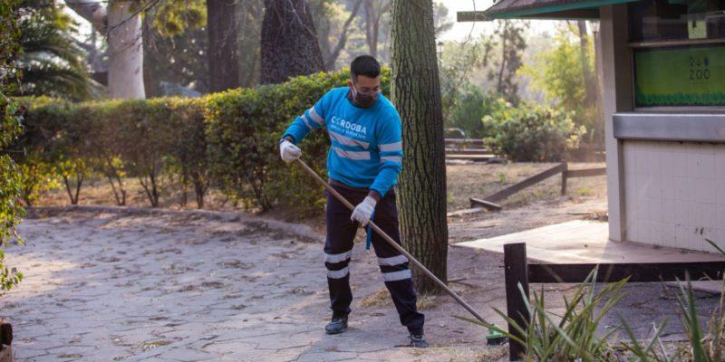 El COyS Limpia El Predio Del Ex Zoológico
