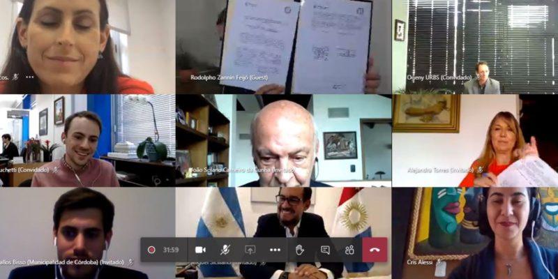 La Municipalidad Celebró Acuerdo Marco De Cooperación Y Amistad Con La Ciudad De Curitiba