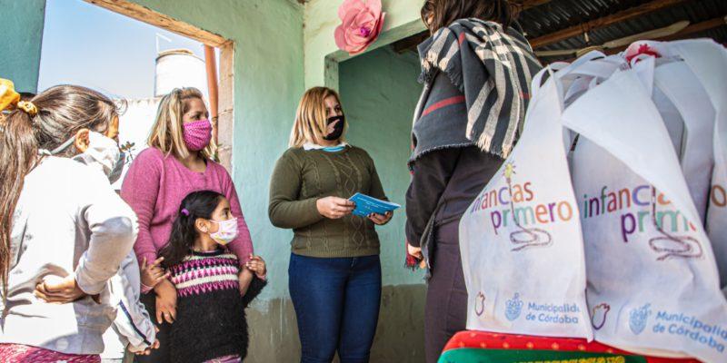 Mes De Las Infancias: Se Entregan Bolsitas Lúdicas Para La Promoción De Derechos