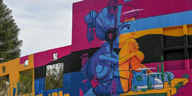 Un Impactante Mural Decora El Ingreso A Córdoba Por Ruta 19