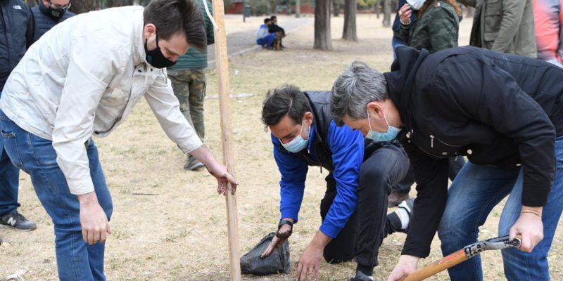Día Del árbol: La Municipalidad De Córdoba Plantó 4 Mil Ejemplares