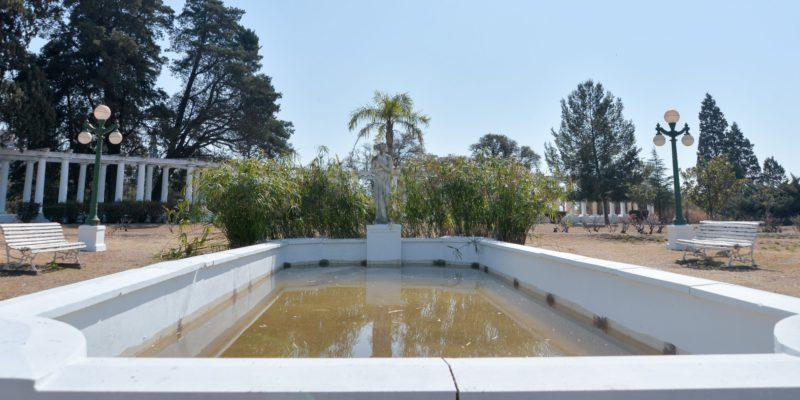 El Rosedal Del Parque Sarmiento Recuperó Sus Tres Fuentes