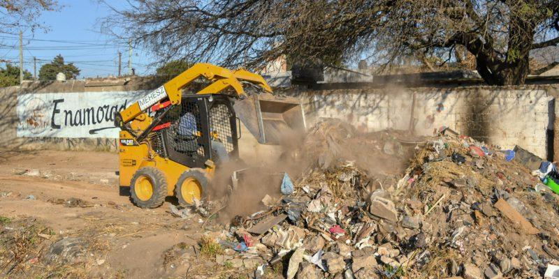 La Municipalidad Realizó La Limpieza Integral De Villa El Bordo