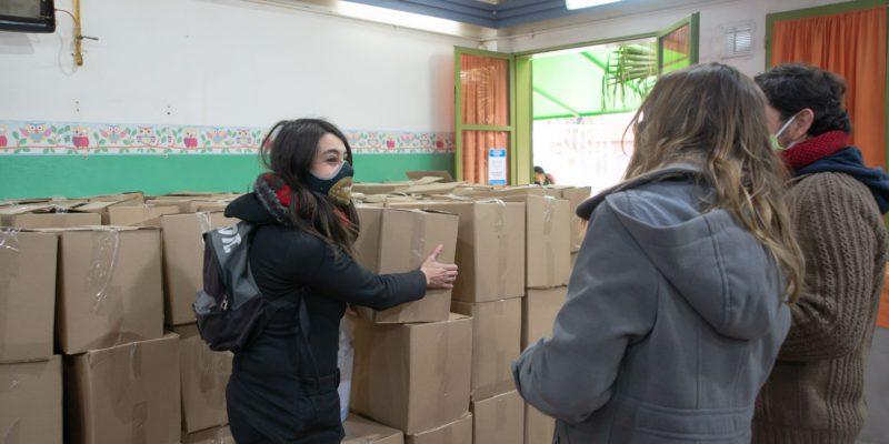 Ya Se Entregaron 85 Mil Módulos Alimentarios En Las Escuelas Y Jardines Municipales