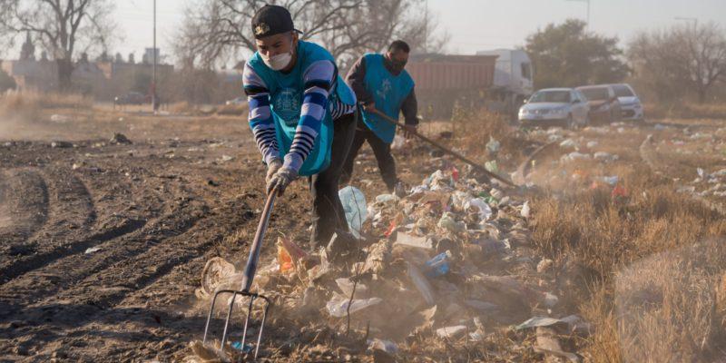 Fase Final Para La Limpieza De Un Macro Basural En Barrio Cooperativa Los Andes