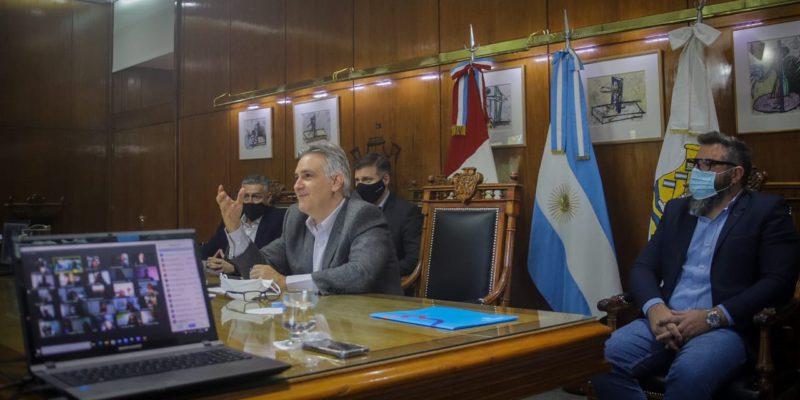 Llaryora Presidió Una Reunión Virtual Con Instituciones Vinculadas A La Discapacidad