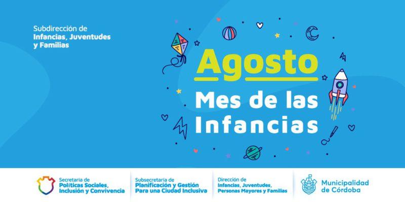 Mes De Las Infancias En La Municipalidad De Córdoba