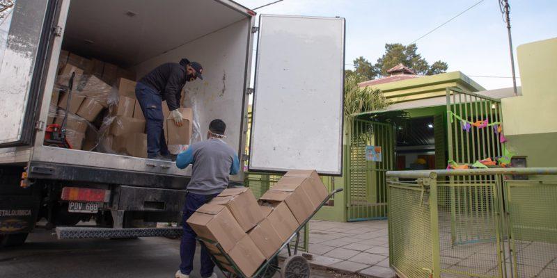 Se Completó La Entrega Anual De Módulos Alimentarios A Jardines Y Escuelas Municipales