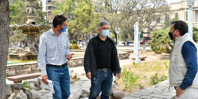 Más De 2.000 Nuevas Plantas Y Plantines Embellecen La Plaza Colón