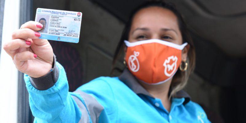 COyS: Por Primera Vez, Las Mujeres Conducirán Camiones De Barrido Mecánico Y Limpieza