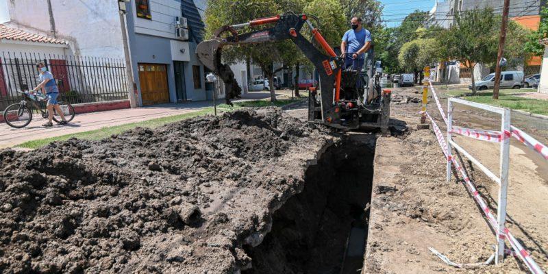 Reparan Un Conducto Cloacal En Barrio General Paz