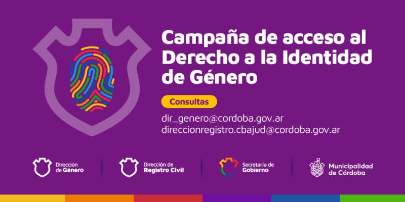 """Comenzó La """"Campaña De Acceso Al Derecho A La Identidad De Género"""""""