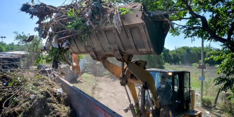 Barrio Posta De Vargas: Limpieza Y Extracción De 120 Toneladas De Residuos De Un Macro Basural
