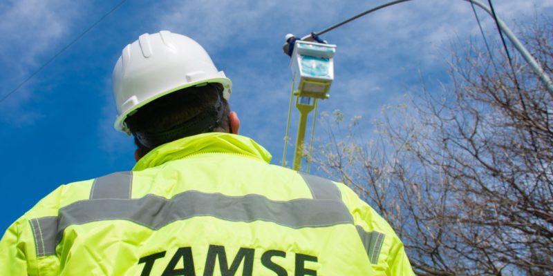 TAMSE Reconectó Más Del 50% De Las Luminarias Apagadas De Sus Recorridos