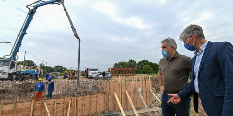 Villa Urquiza: Avanzan Las Obras De Reconstrucción De Desagüe