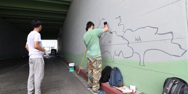 Comienza A Pintarse El Mayor Mural Artístico De Córdoba