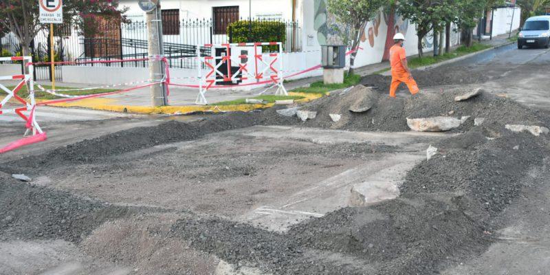 La Municipalidad Arregló El Caño Cloacal Roto Y Tapó El Pozo Generado Por Socavamiento En Calle Virgen De La Merced