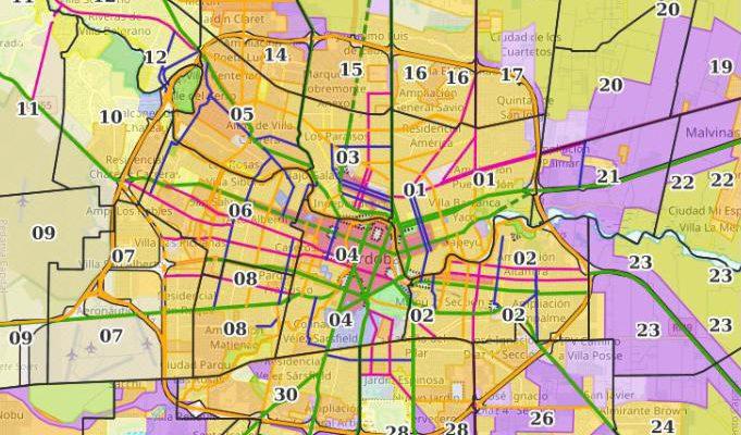 La Municipalidad De Córdoba Digitalizó Los Mapas De Ocupación, Uso Y Fraccionamiento Del Suelo