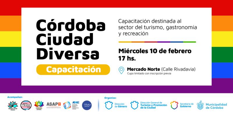 """""""Córdoba Ciudad Diversa"""": Capacitación Para El Sector Turístico, Gastronómico Y De Recreación"""