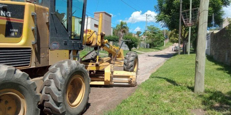 Villa Rivera Indarte: Iniciaron Los Trabajos De Mantenimiento De Calles De Tierra