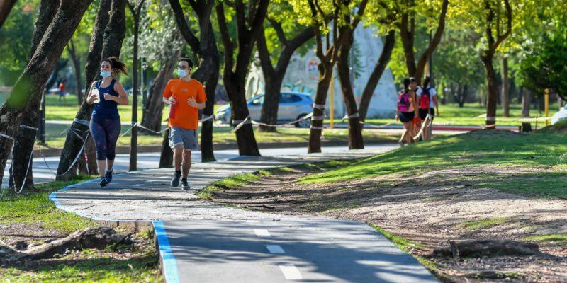 Parque Sarmiento: El Ente BioCórdoba Inició Los Trabajos De Revalorización De La Ciclovía
