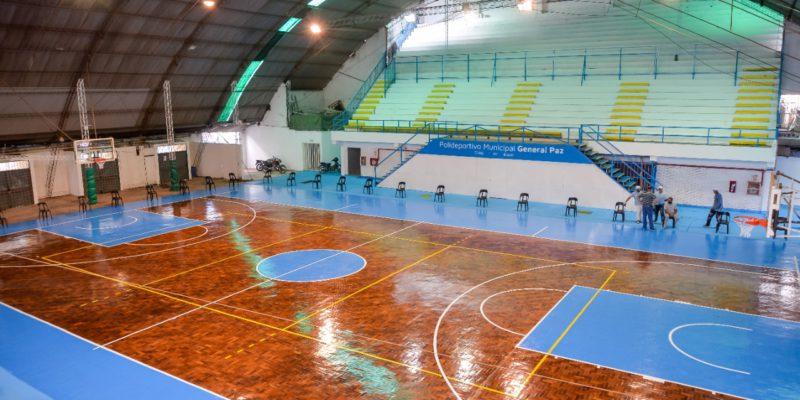 Luego De Años De Abandono, La Municipalidad Puso En Valor El Polideportivo General Paz