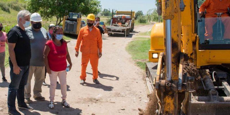 La Municipalidad Llevará El Servicio De Red De Agua Potable A Más De 1.300 Habitantes Del Asentamiento Los Artesanos