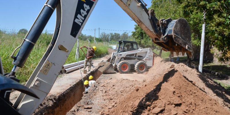 Avanza La Construcción De Aliviadores Cloacales En Los Barrios