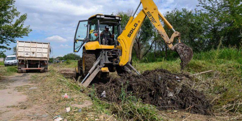Retiran Más De 75 Toneladas De Basura Del Desagüe Pluvial Que Recorre Barrios Cooperativa 15 De Abril, Villa Boedo Y Villa Bustos