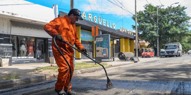 Rehabilitación De Calles: Trabajan Sobre 1.200 Metros De Avenida Donato Álvarez