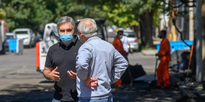 Alta Córdoba: Inician Trabajos De Rehabilitación De Calle Avellaneda