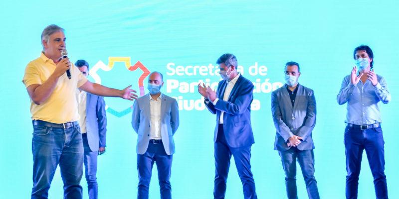 Llaryora Anunció Obras Para La Recuperación De 33 Plazas Y Espacios Verdes De La Ciudad