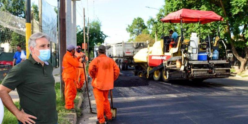 Avanzan Las Obras De Reparación De Avenida Gauss
