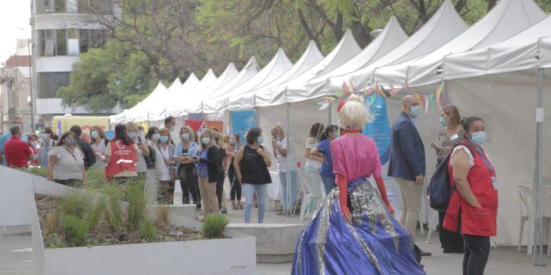 Más De 2000 Personas Visitaron La Expo Salud En Plaza De La Intendencia