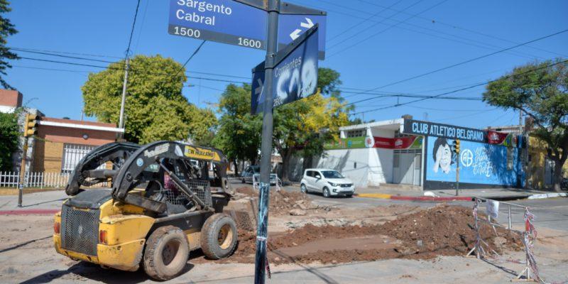 Cloacas: Avanzan Los Trabajos En Los Barrios Rivadavia Y Sarmiento
