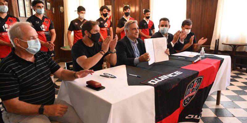 La Municipalidad Y El Córdoba Athletic Desarrollarán Proyectos Deportivos De Carácter Social E Inclusivo
