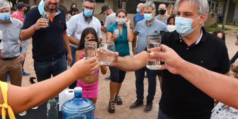 330 Vecinos De Las Huertillas Ya Disfrutan Del Agua Potable