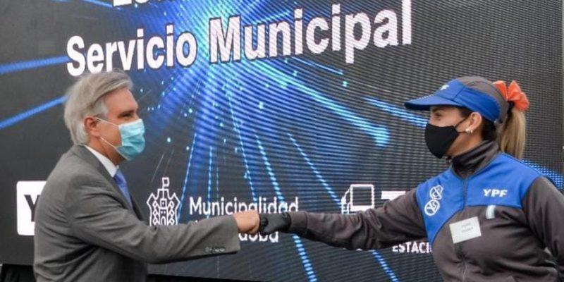 Llaryora Inauguró Las Obras De Refacción De La Estación De Servicio De Tamse