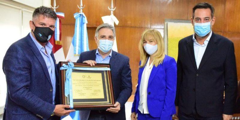 Llaryora Recibió A Artime Y Saludó A Todo Belgrano En Su Aniversario