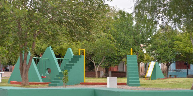Barrio Ampliación Pueyrredón: Finalizaron Los Trabajos De Puesta En Valor De La Plaza Trulalá