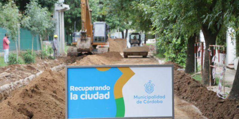 Inician Las Obras Del Nuevo Aliviador Cloacal En Barrio Inaudi