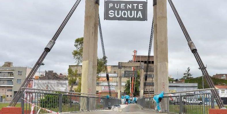 Revalorizan El Puente Peatonal Suquía
