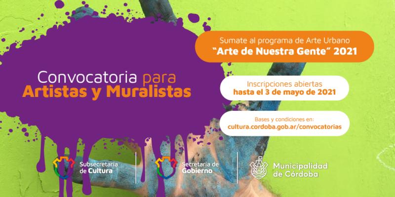 """""""Arte De Nuestra Gente"""" Abre Convocatoria Para Artistas Y Muralistas"""
