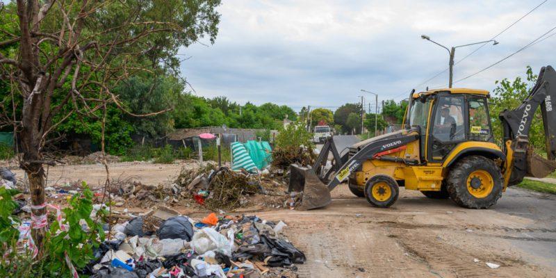 Barrio Pueyrredón: La Municipalidad Extrajo Más De 112 Toneladas De Residuos De Un Basural