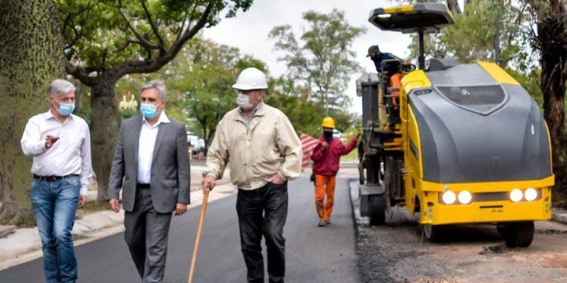 Ya Se Repavimentaron 33.500 Metros Cuadrados De Calles En El Parque Sarmiento