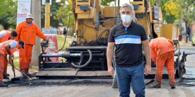 Repararon Más De Tres Kilómetros De Calzada De La Av. Don Bosco