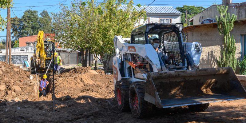 Avanza La Primera Etapa De La Obra De Cloacas En Villa El Libertador
